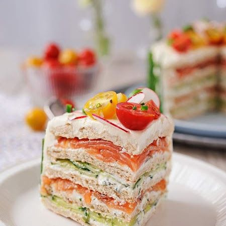 What a perfect #party #sandwich!