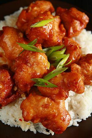 Gluten Free Spicy Orange Chicken