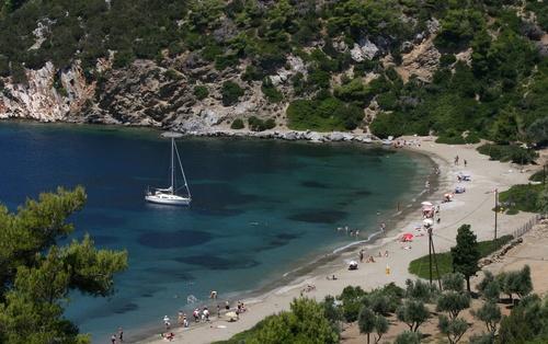Kalamitsa Beach on Skyros Island (GR)