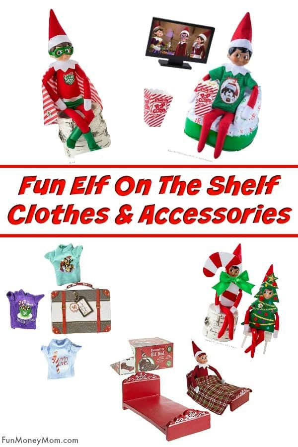 Fun Elf On The Shelf Clothes And Accessories Elf On The Shelf