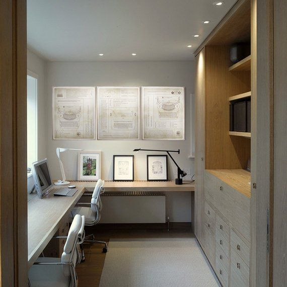 30 Charming Home Office Cabinet Design Ideas For Easy Storage Home Office Cabinets Home Office Design Home Office Layouts