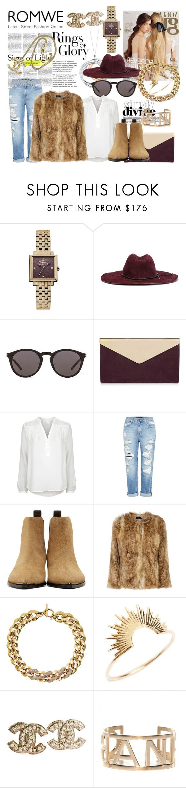 Untitled #175 by denisa-marcu on Polyvore featuring Diane Von Furstenberg, Karen Millen, Genetic Denim, Acne Studios, Jimmy Choo, Michael Kors, Vivienne Westwood, Chanel, Sarah & Sebastian and Emilio Pucci