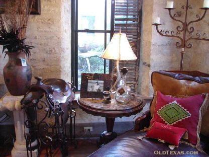 iron designs and rustic texas decor - Texas Style Decorating