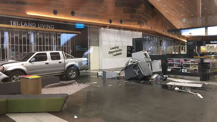 There has been a second ram raid in one week at Williams Landing shopping centre.  http://www.australianbollards.com.au/blog/shocking-ram-raid-at-williams-landing-shopping-centre