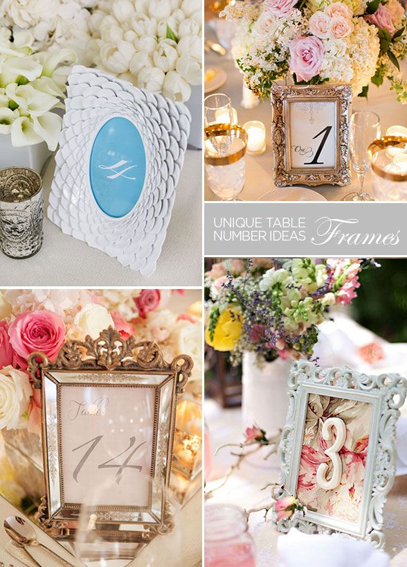 simply choose an elegant font and print table numbers then cut each number out individually