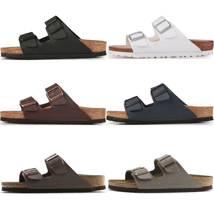 Birkenstock Arizona Birko-Flor Sandals #sandals 2 Strap Slides Cork Footbed Mens Womens $89.90 (AU)