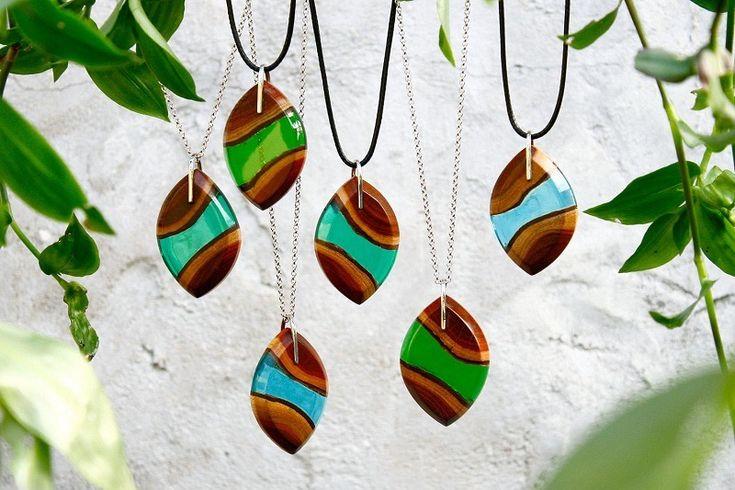 Britta Böeckmann Designs Nature Inspired Jewelleries Made Of Scrap Woods And Resins
