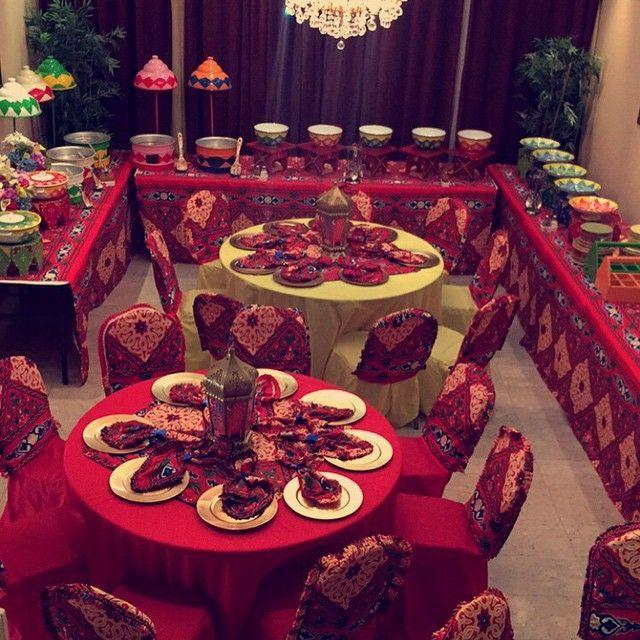 تصوير زبونتنا قرقيعان 2015 قطر الدوحه قطر قرنقعوه قرقيعان توزيعات رمضان غبقه فطور عشى ليله حنا ليله ح Eid Mubark Ramadan Table Decorations