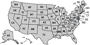 Map Of The United States Of America CSV Pinterest Maps The - United states map initials