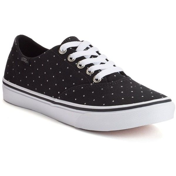Vans Winston Decon Women's Studded Skate Shoes, Size: 7.5, Black Stud ($45) ❤ liked on Polyvore featuring shoes, black stud, lace up shoes, print shoes, black lace up shoes, black shoes and vans footwear