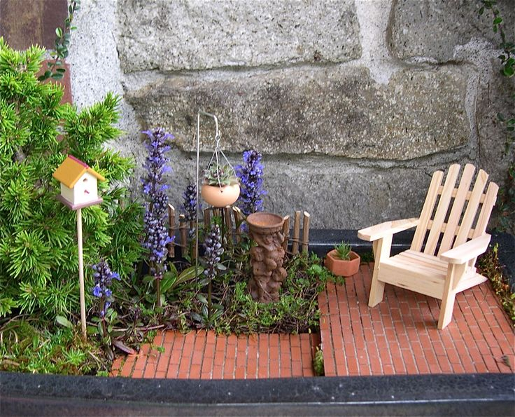 17 Best ideas about Miniature Gardens on Pinterest Fairy garden