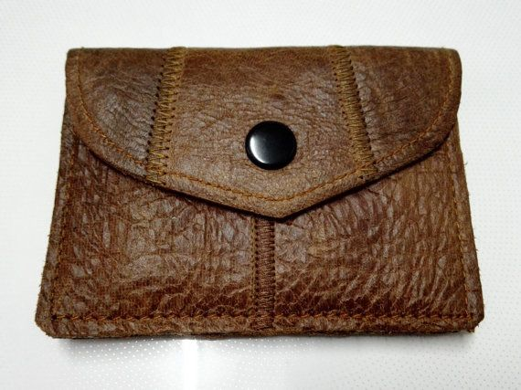 BA002 Leather clutch, leather purse, slim wallet - FREE SHIPPING