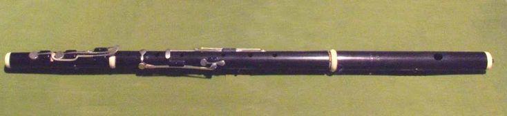 Transverse Flute by Theobald Boehm, German, Musical Instruments Medium: Ebony, ivory, silver Purchase, Robert Alonzo Lehman Bequest, 2009 Metropolitan Museum of Art, New York,...