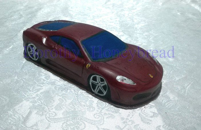 HAND MADE and HAND PAINTED 100% edible, HOLLOW CHOCOLATE FERRARI 430! EAT them, COLLECT them or Give them as a gift to someone special! 21cm long, 8cm wide, 300g To order please send us a text message or email to: dorothys.honeybread@gmail.com  www.dorothyshoneybread.com  #dorothyshoneybread #chocolate #chocolatecar #ferrari #handmaide #ferrari430 #christmas #430 #gift #chocolatecake #chocolatemodel #choco #chocolateferrari #chocolateferrari430 #chocolate430