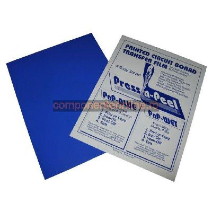 Folie Press N Peel, albastru - 200841