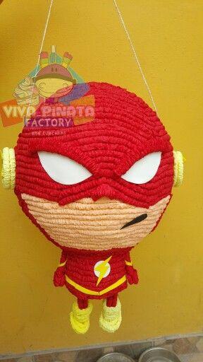 Nuevo diseño de piñata Flash... una serie 100% recomendable. Y cual es el Super Héroe favorito de tu pequeño@
