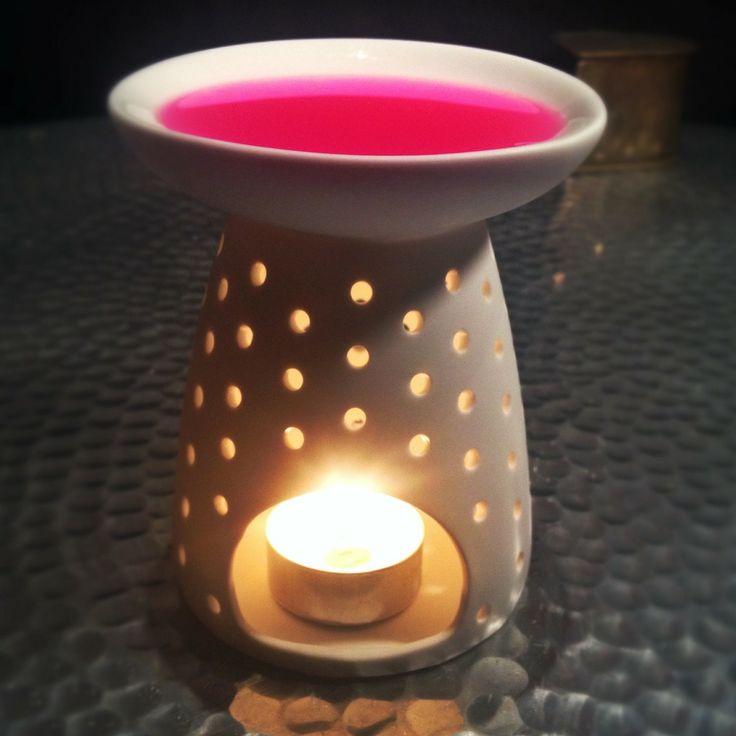 Brule parfum Porcelaine / Nour Bougies Factory : Accessoires de maison par nourbougiesfactory