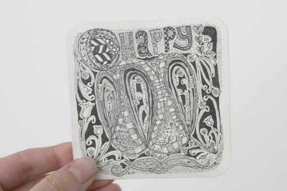 Hey, I found this really awesome Etsy listing at https://www.etsy.com/listing/210544763/handmade-happiness-original-drawing