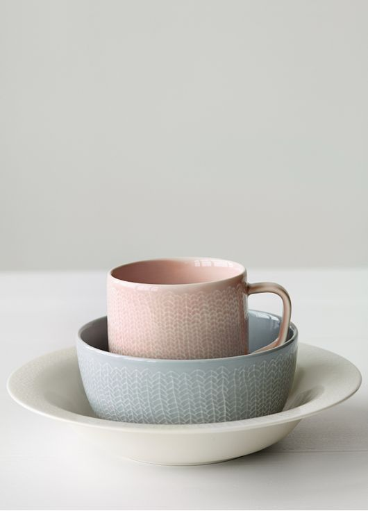 love this palette - iittala Finnish dishes...