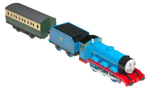 """Thomas and Friends Gordon Battery Powered Train. Tomica World Accessories: Gordon Accessory Set, Includes Gordon, 1 express coach. Requires 1 """"C"""" Battery (not included) Ages 3+ TY7443 International Playthings, Inc."""