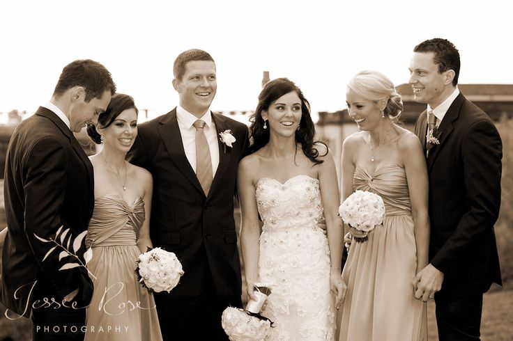 Ash & Rob @ Jessie Rose Photography #springwedding #wedding #photography #weddingphotography #jessierosephotography #bride #groom #sydney #kiss #australia #observatoryhill #springwedding #spring #bridalparty #sepia