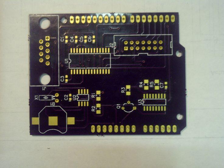 Solar monitor PCB.