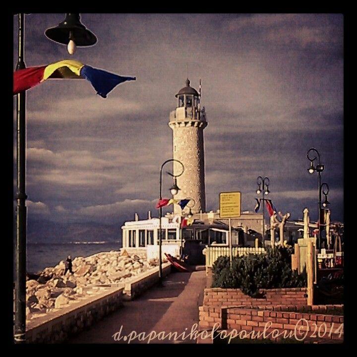 Patras lighthouse, Greece