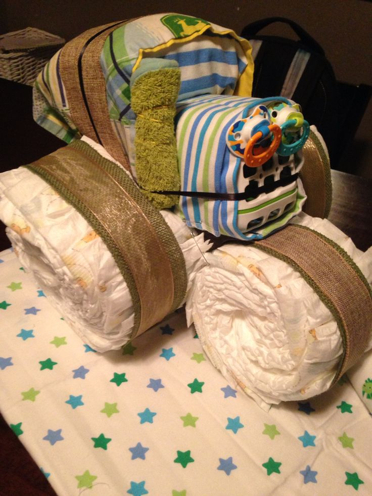 1000+ ideas about Diaper Tractor on Pinterest | Diaper ...