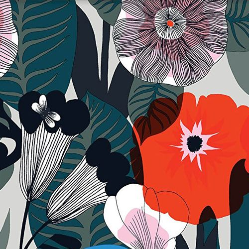 Print & Pattern Blog - Marimekko I like the opacity and layering of colors