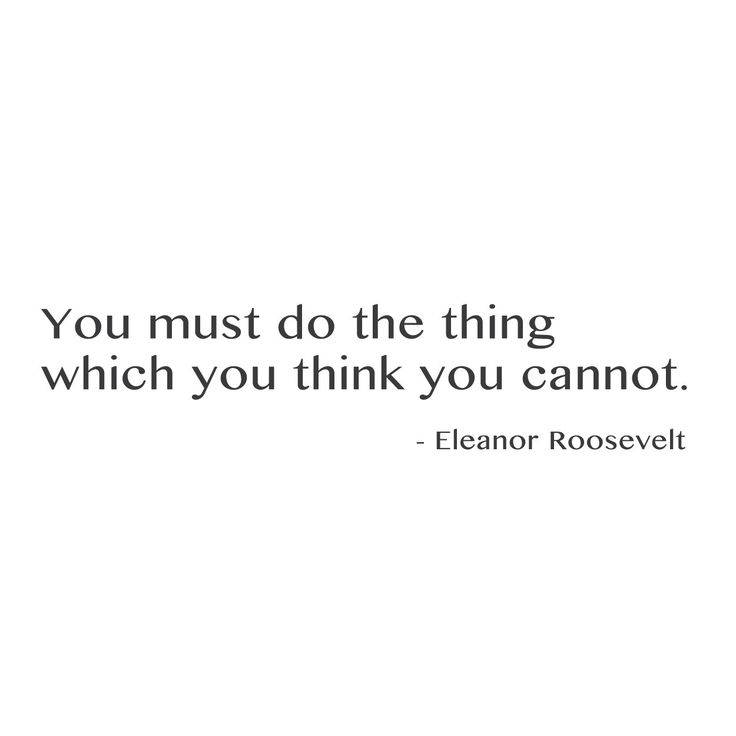 """wall quotes wall decals - """"You must do the thing which you think you cannot""""   lifestyle"""