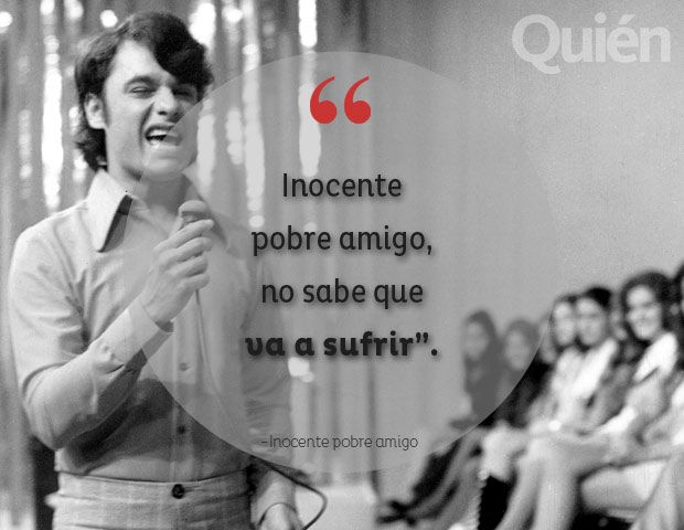 Inocente pobre amigo. Juan Gabriel