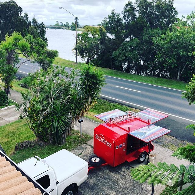 A great photo taken by Gutter-Vac Northern Rivers from a property they were servicing in Woodburn.