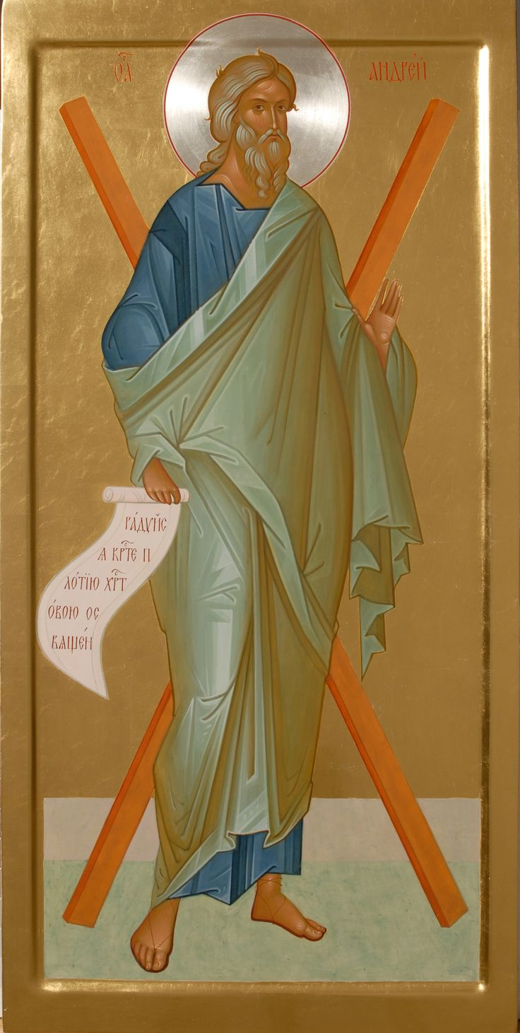 Handpainted Icons of Apostle Andrew  Order here: http://catalog.obitel-minsk.com/hand-painted-orthodox-icon.html?&___store=default  #icon #iconography #orthodoxicon #orthodoxiconography #paintedicon #iconsinoklads #mountedicons #buyicon #ordericon #handpainted #lacqueredicon #iconpainters #iconographers #apostle #SaintAndrew