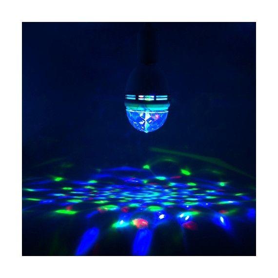 [2-Pack] Casavida Rotating LED Strobe Bulb for Party/Club/Bar