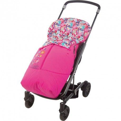 Saco de primavera universal para silla de paseo de la colección Kimono niña de Tuc Tuc. Perfecto para el clima primaveral.