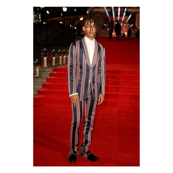 @BFC #FashionAwards ニュー・ファッション・アイコン・アワードを受賞したジェイデン・スミス #JadenSmith @of...