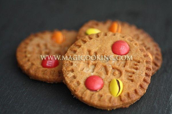 Арахисовое печенье с M&M's