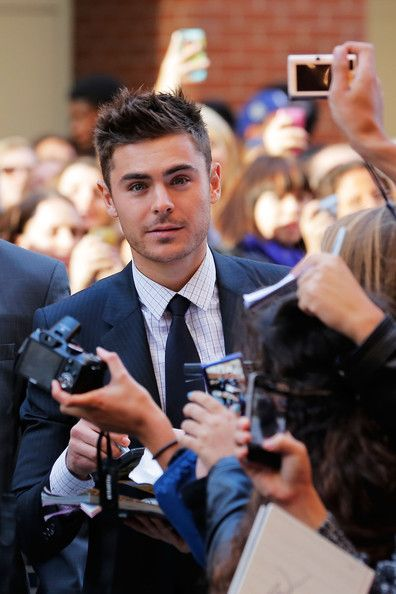 "Zac Efron attends the ""The Paperboy"" premiere during the 2012 Toronto International Film Festival on September 14, 2012 in Toronto, Canada."