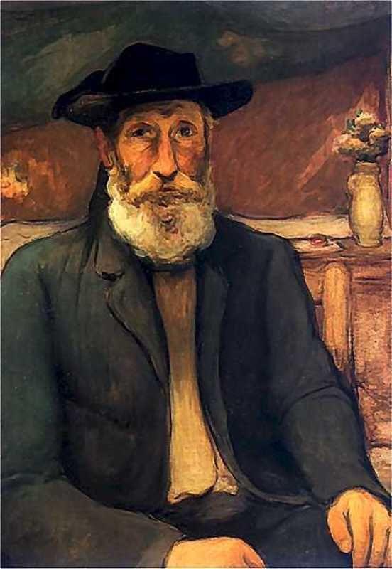 władysław ślewiński - Autoportret w bretońskim kapeluszu. Ok. 1912. Olej na płótnie. 82 x 58 cm