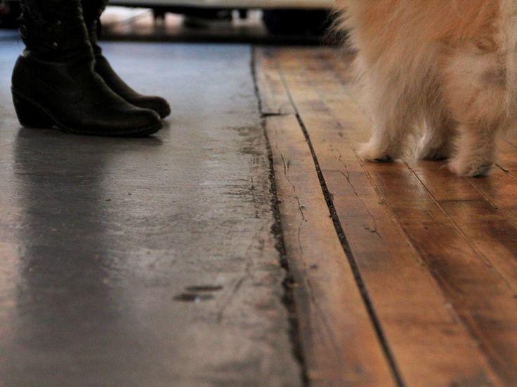 1000 Ideas About Concrete Wood Floor On Pinterest