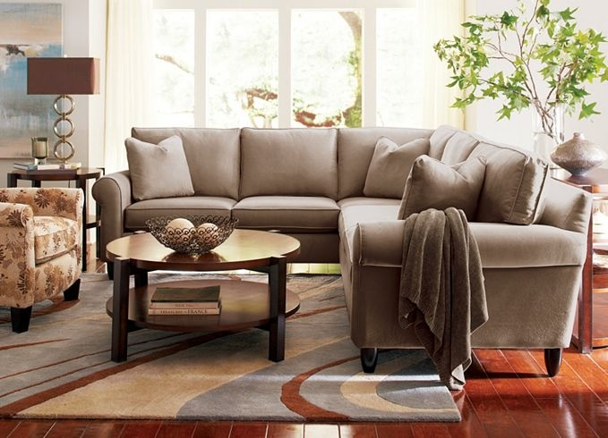 This Is The Couch I Want For My New Place, But In A Deep Brown