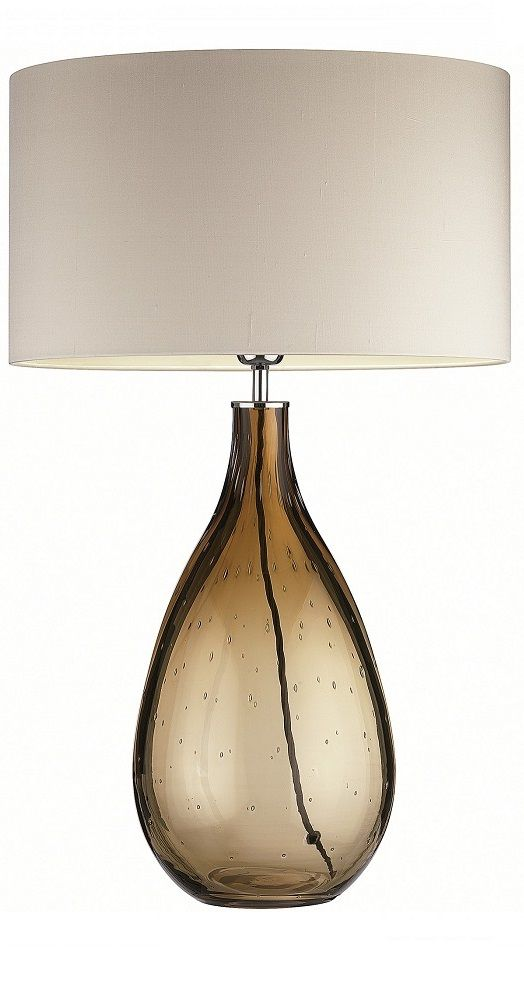 Brown Table Lamp Lamps Modern Contemporary Bedroom TableLiving