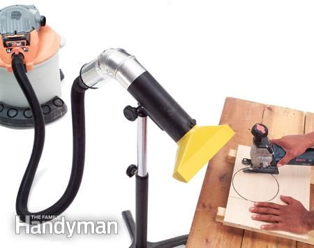 Using a Shop Vacuum for Dust Collection - Article: The Family Handyman