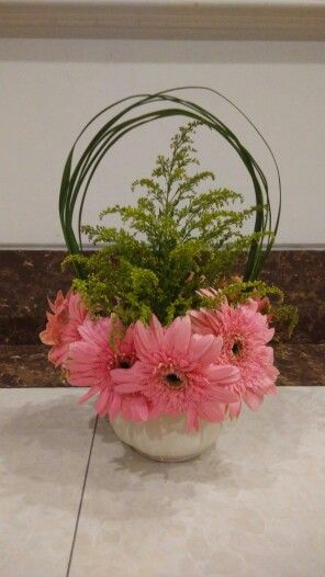 Love gerbera! But easy to fall :( - by me!