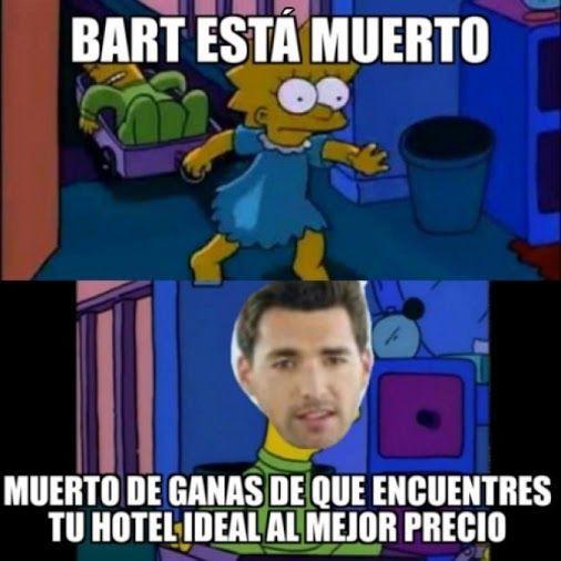 No hay lugar donde no aparezca Trivago Para más imágenes graciosas visita: https://www.Huevadas.net #meme #humor #chistes #viral #amor #huevadasnet