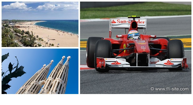 Beat the madness of Silverstone and enjoy F1 in the sun – pre-qualifying, qualifying & race day tickets; transfers to & from Circuit de Catalunya; accommodation at Malgrat de Mar Beach; PLUS airport transfers (51% off)
