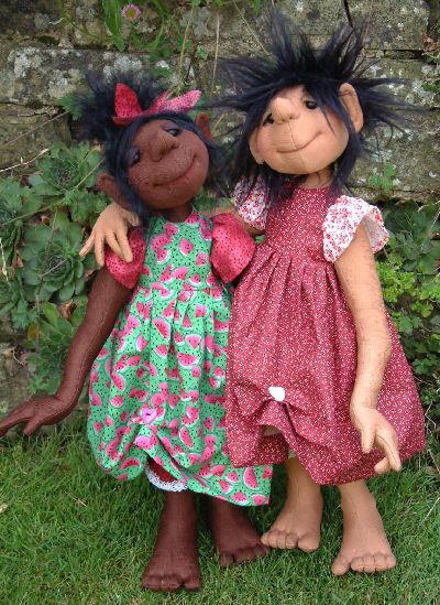 Cloth Doll Patterns by Janet Clark