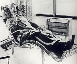 Bruno Mattson et sa Pernilla lounge chair