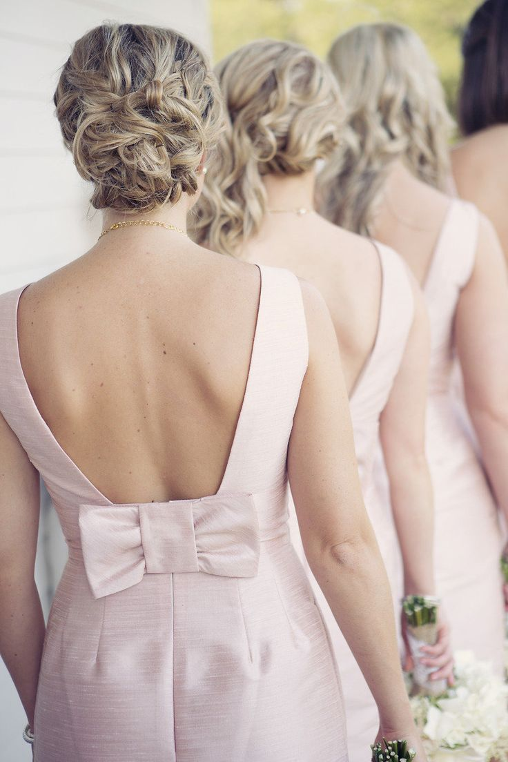 Think timeless: http://www.stylemepretty.com/little-black-book-blog/2014/01/29/dos-and-donts-of-picking-the-perfect-bridesmaid-dress/