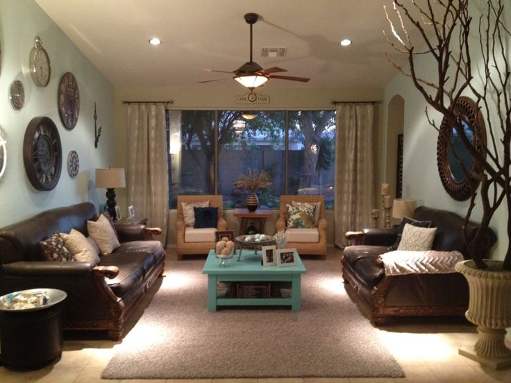 Living Room 6 Portland Of Tiffany Blue Coffee Table Family Rooms Pinterest